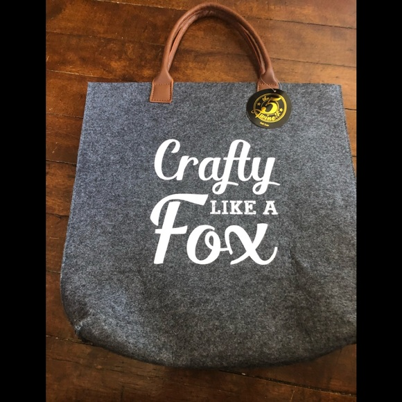 8fa37eff6e3c19 Bags | Crafty Like A Fox Felted Wool Tote | Poshmark